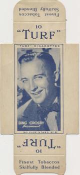 1947 Famous Film Star Carreras Turf #41/50 Bing Crosby  #*