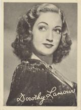 1948 Film Stars Film Fun Amalgamated Press FIF-6 Dorothy Lamour vg-ex  #*