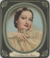 1937 Film Favourites Garbath, Berlin #36 Dorothy Lamour ex++  #*