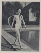 1935 Film Stars Union Cigarettes, Germany Dorothy Lamour ex++  #*
