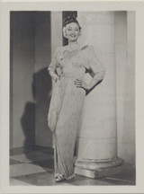 1930s Series C Film Stars Of The World #155/220 Germany Dorothy Lamour ex++  #*
