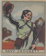 1933 R128-2 Series Of 48 Westerns #220 Davy Crockett  #*