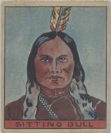 1933 R128-2 Series Of 48 Westerns #248 Sitting Bull  #*