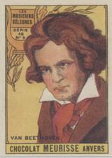 1930 Chocolat Meurisse France Series 48 #5 Beethover  #*