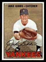 1967 Topps #375 Jake Gibbs Ex-Mint