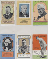 1928/29 Men Of America Set 53 Plus Box  #*