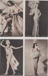 1950s Las Vegas Show Girls Exhibts size lot 23  #*