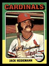 1975 Topps Mini #649 Jack Heidemann Ex-Mint  ID: 318229