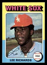 1975 Topps Mini #653 Lee Richard Ex-Mint