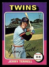 1975 Topps Mini #654 Jerry Terrell Ex-Mint  ID: 318234