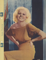 1935 Dixie Premiums F3-1-14 Jean Harlow 9 By 11 Inches  #*