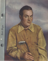 1942 Dixie Premiums 1942 Bob Hope 8 By 10 Inches Color  #*