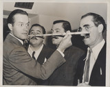 1938 Bob Hope Battle Of The Mustaches 7 by 8 3/4 inches  #*