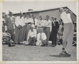 1950's Bob Hope Golf 8 by 10 inches  #*