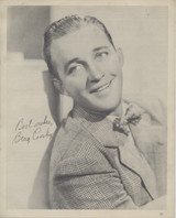 1938 Bing Crosby Movie Theater Giveaway 8 by 10 inch Photo  #*