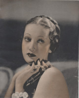 1941 Dorothy Lamour Movie Theater Giveaway 8 by 10 inch Photo  #*