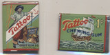 1932 ORIG. ORBIT PIRATE GUM TATTOO UNOPENED WAX PACK 1 CENT GREEN  #*