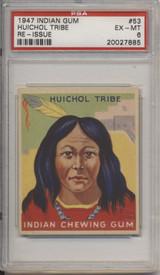 1947 Indian Gum #53 Huichol Tribe PSA 6 EX-MT #*