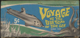1964 Donruss Voyage To The Bottom Of The Sea, 5 Cents Display Box  #*