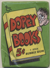1967 Topps Dopey Books 5 Cents Unopened Wax Pack  #*