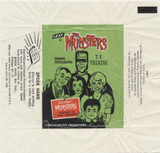 1964 Leaf The Munsters Wrapper  #*