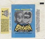 1966 Topps Batman Real Photos 5 Cents Wrapper  #*