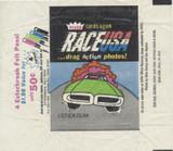 1971 Fleer Race U S A   Wrapper  #*