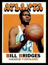 1971-72 Topps #132 Bill Bridges DP Near Mint+  ID: 318897