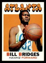 1971-72 Topps #132 Bill Bridges DP Ex-Mint  ID: 318898