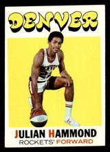 1971-72 Topps #174 Julian Hammond Ex-Mint  ID: 318904