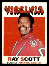 1971-72 Topps #227 Ray Scott Very Good  ID: 318913