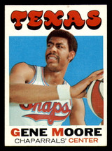 1971-72 Topps #231 Gene Moore Excellent+  ID: 318917