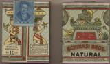 1909-1910 Schinasi Bros. Natural Unopened Pack Cigarettes  #*