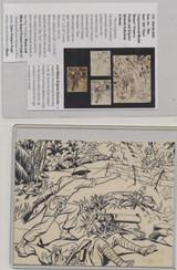 1941 R164 GUM INC. WAR GUM #54 THIRD CONGRESSIONAL MEDAL WINNER (ORIGINAL ART )  #*