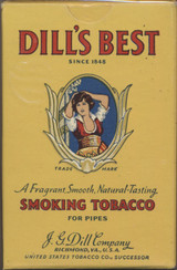 1920'S J.G. DILL & CO. DILL'S BEST PIPE TOBACCO  #*