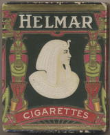 """1910 HELMAR TURKISH CIGARETTES """""""" Smaller Box 2/3/4 by 2 1/$ Inches   #*"""