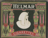 1910 HELMAR TURKISH CIGARETTES LARGER BOX 3 1/2 by 2 3/4 inches  #*