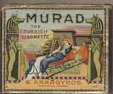 1909-1910 MURAD S. ANARGYROS CIGARETTES  #*