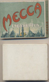 1910 Mecca Cigarettes Box With Insert Empty  #*