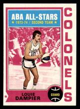 1974-75 Topps #255 Louie Dampier Near Mint+  ID: 319229
