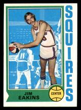 1974-75 Topps #258 Jim Eakins Near Mint