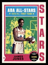 1974-75 Topps #260 James Jones Near Mint+  ID: 319233