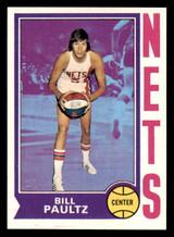 1974-75 Topps #262 Billy Paultz Near Mint