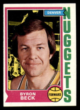 1974-75 Topps #264 Byron Beck Ex-Mint  ID: 319237