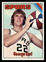 1975-76 Topps #303 George Karl Near Mint+