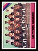 1975-76 Topps #324 Memphis Sounds Team Card Rick Mount Near Mint  ID: 319415