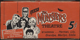 1964 Leaf The Munsters Empty Display Box  #*