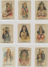 1910 S-80 Women Of Ancient Egypt Set (25) 2 X 3 1/4 Inches  #*