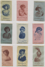 1910 S-72-1 ACTRESSES LOT OF (72) 2 X 3 1/4 INCHES  #*