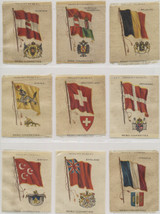1910 S-38 Flags & Arms Lot Of (20) 2 1/2 By 3 1/4 Inches  #*